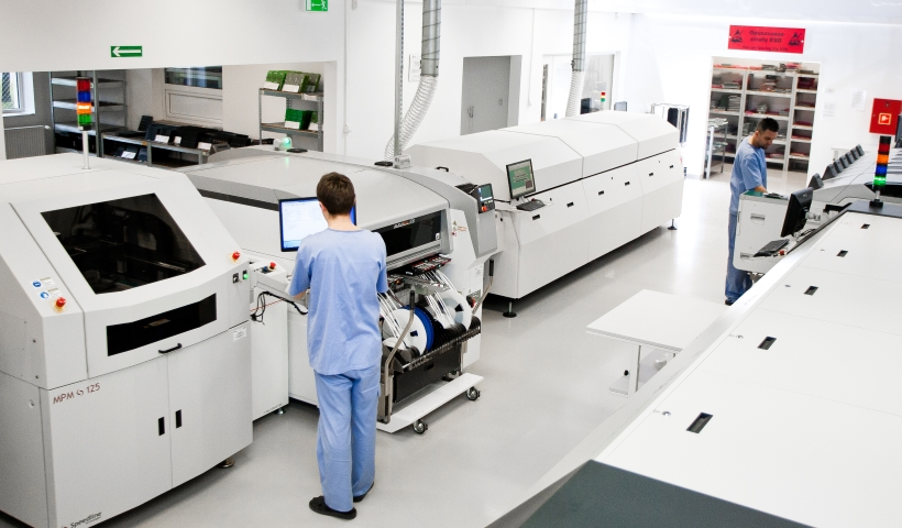 Contract assembly EMS EAE Elektronik